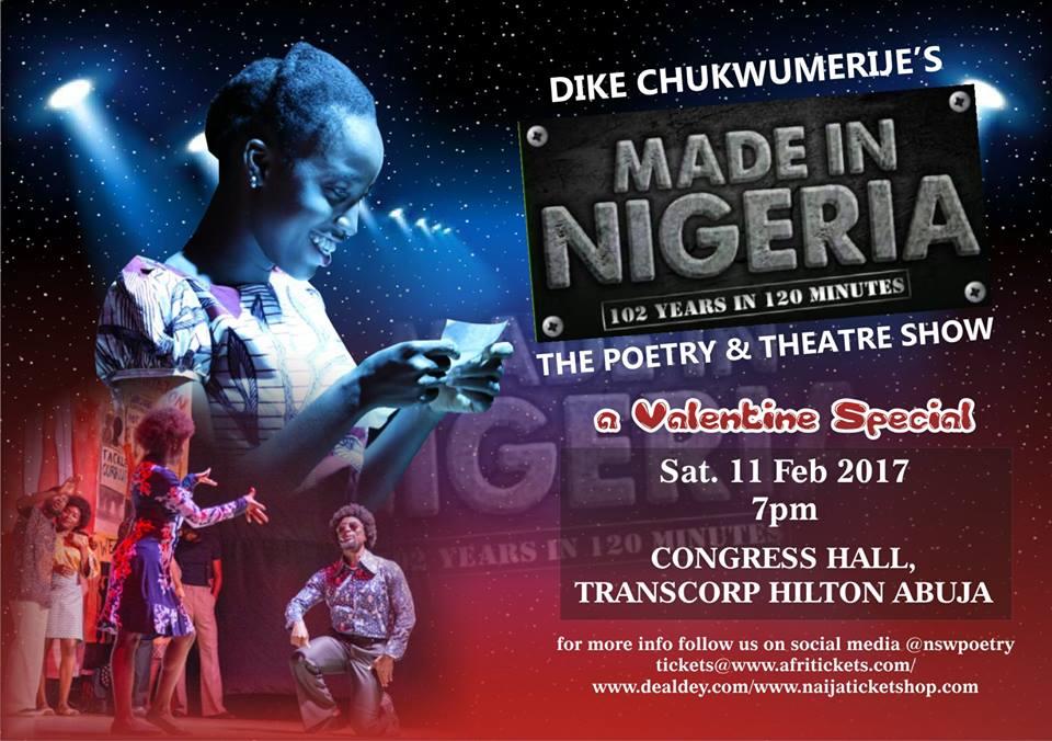Chukwumerije's Made in Nigeria Show – Valentine Special