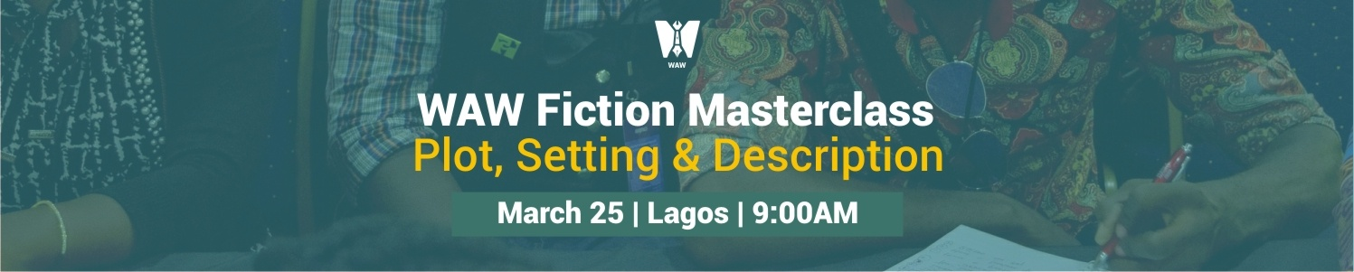 Attend The #WAWFictionWriting MasterClass This Saturday
