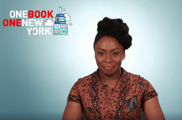 Adichie's 'Americanah' Wins 'One Book, One New York' Programme