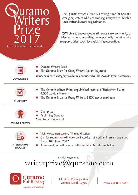 Quramo Writers Prize 2017