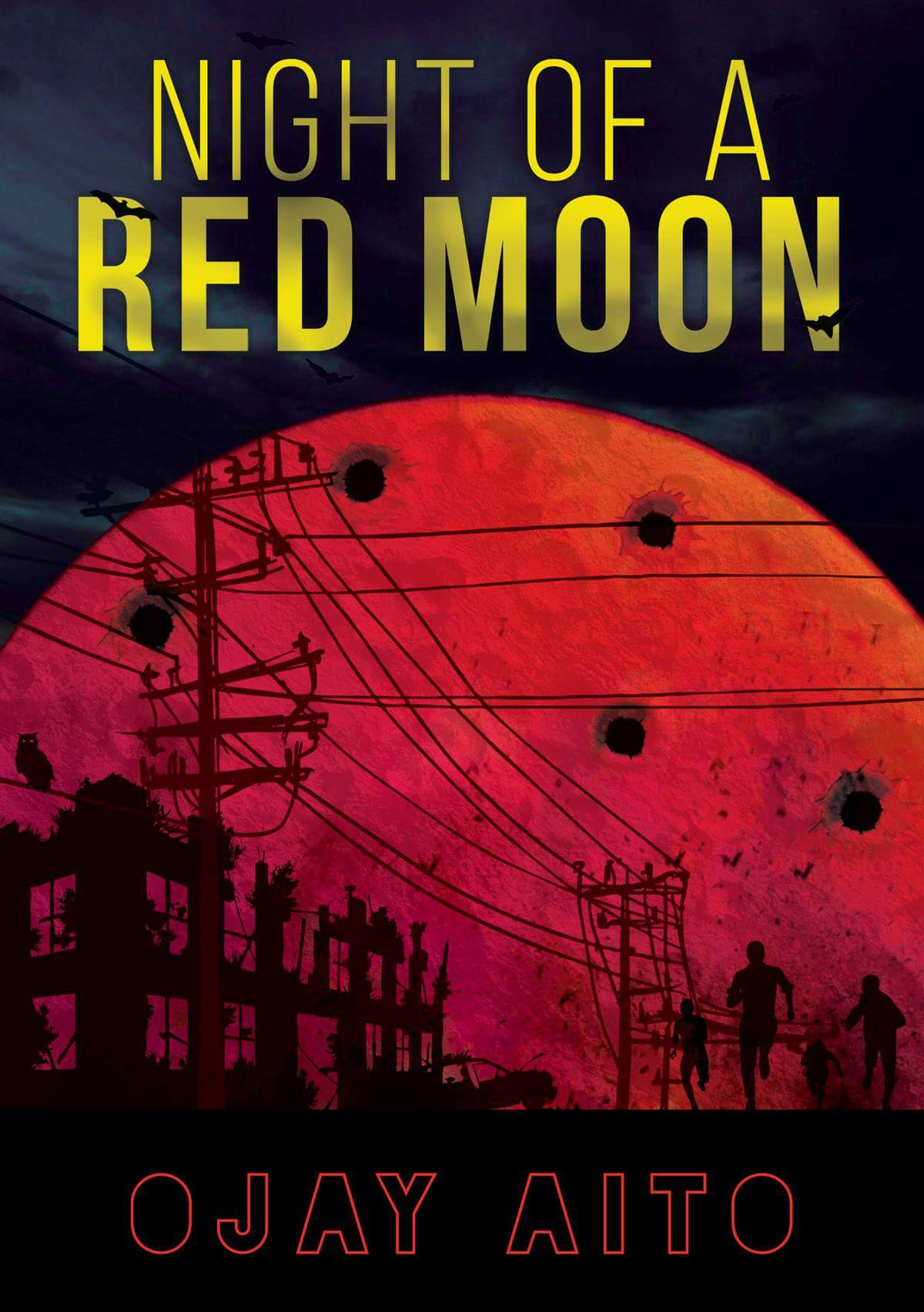 """Ojay Aito's Debut Novel """"Night of A Red Moon"""" Out June 18"""