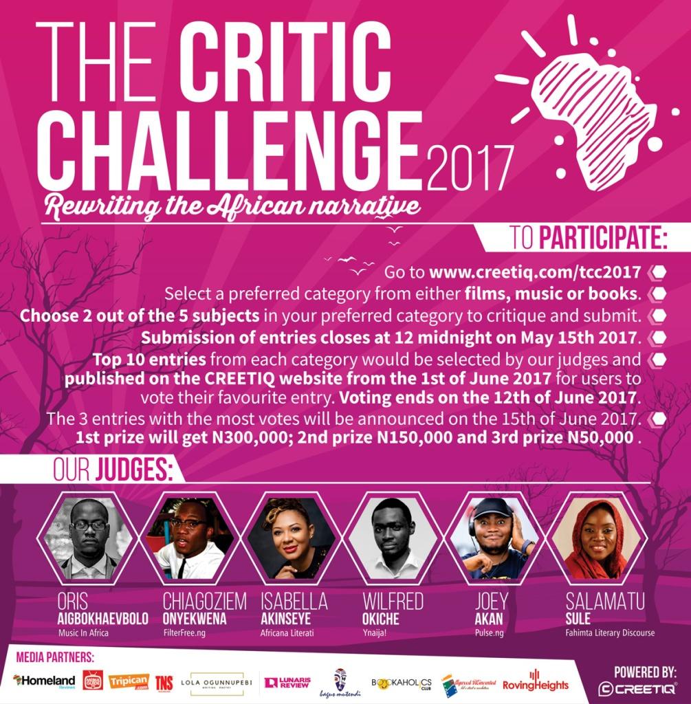 #TheCriticChallenge2017 – 11 Days To Go!