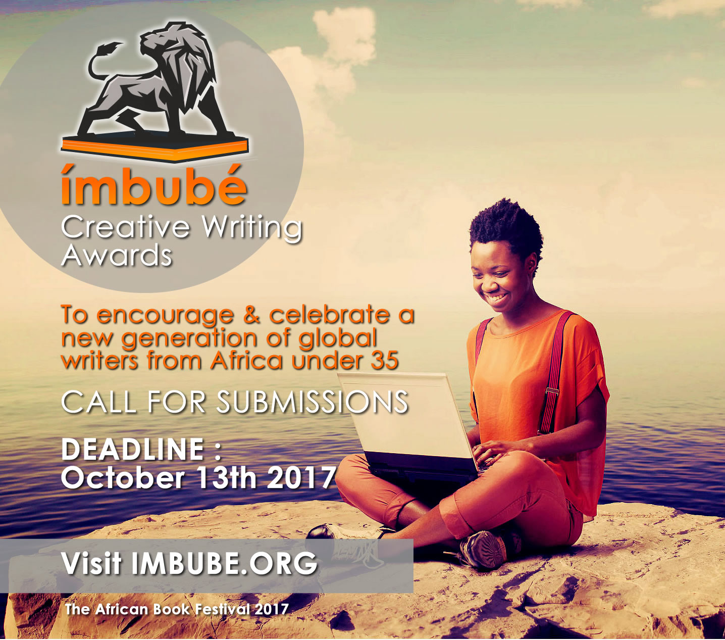 Opportunity for African Writers: Call for Entries: 2017 Imbubé Creative Writing Prize