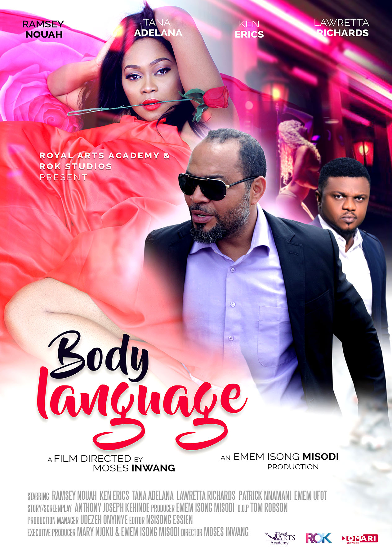 "Suspense-Filled, Non-Cliche – A Review of The Movie ""Body Language"" by Jerry Chiemeke"